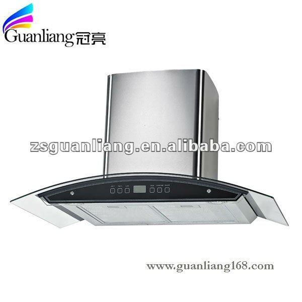 90cm electric kitchen appliance touch switch cooker hood