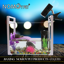 Nomo acrylic table glass aquarium fish tank/office table fish aquarium