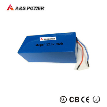 rechargeable LiFePO4 26650 4S10P lithium iron phosphate 12v 30ah battery