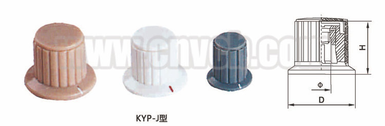 K07 switch rotary knob KYP-J Cookware handle and knob plastic button knob