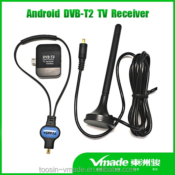 dvb t2 pad tv receiver for android phone and pad use watch tv