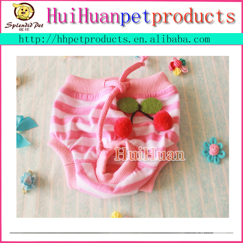 Hot sale pet physiological clothes puppy dog bikini