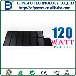 120W solar bag foldable solar panel charging for various digital product (sample)