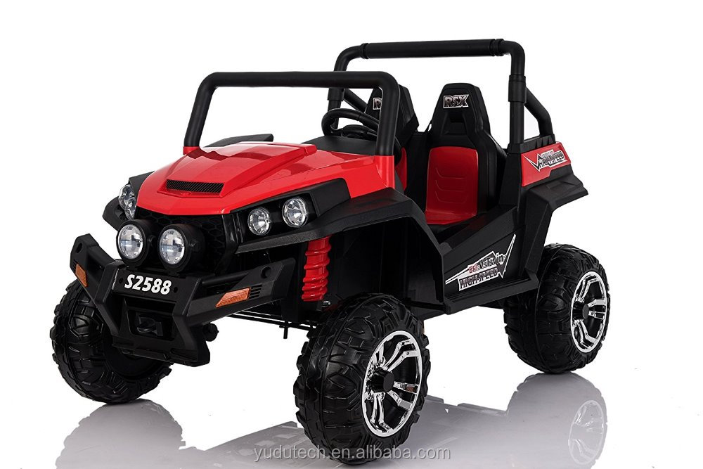 ROCKET MAVERICK RS 24V 4 X 4 CHILD'S ELECTRIC RIDE ON UTV JEEP CAR QUAD (Red)