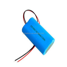 lithium battery aa 14500 7.4V 750mAh li ion rechargeable battery for digital device