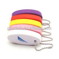 new products for 2013 hot sale popular high quality with low price pu key chain/pu key ring for gift items