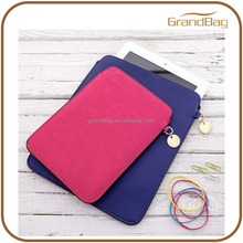new fashion classic design genuine leather cover for ipad case leather sleeve for ipad mini shell zipper bag for ipad air 2 case