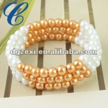 Wholesale charming pearl bracelet parts