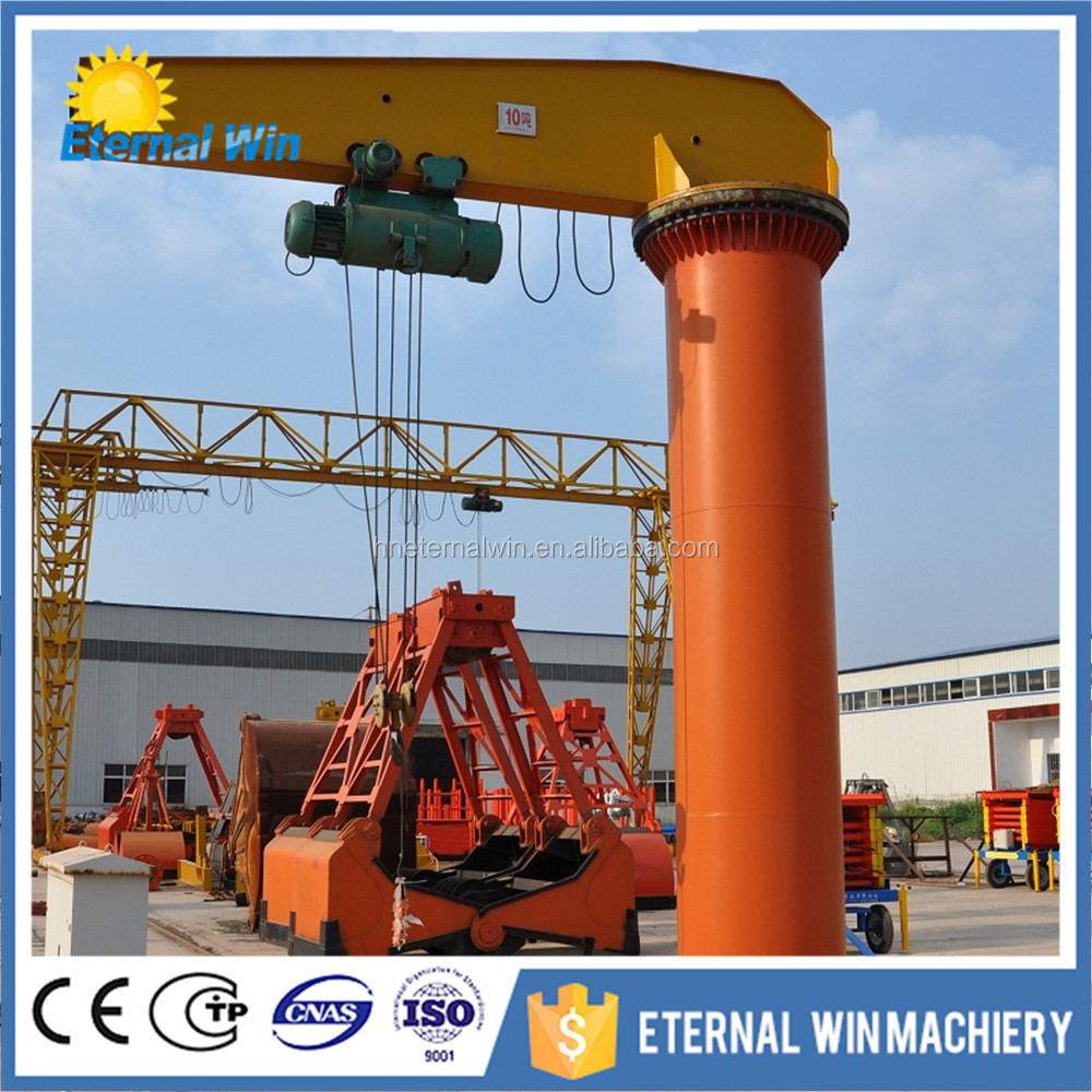 Swing Arm Hoist Mount : Floor mounted swing arm lift jib crane ton buy