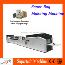 High Speed Manual Paper Bag Making Machine