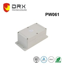White ABS IP65 wall mounted plastic enclosure junction electronic project box