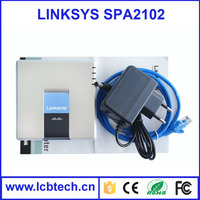 unlocked linksys spa2102 / voip adapter With Factory price voip phone voip best price power adapter phone adapter skype