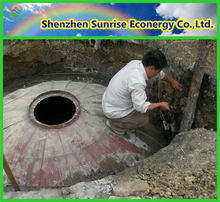 china small household biogas plant in China