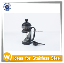 Black French Coffee Press , Stainless Steel Plunger , 350ML,12OZ