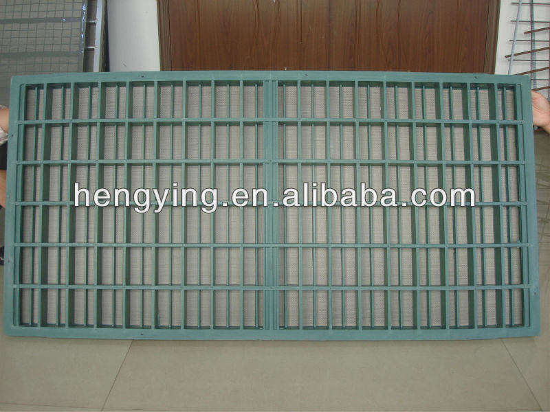 Steel/Aluminium/Injection frame screen(real manufactur)
