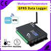 Blue led display Multipoint Temperature GPRS data logger for flow meter