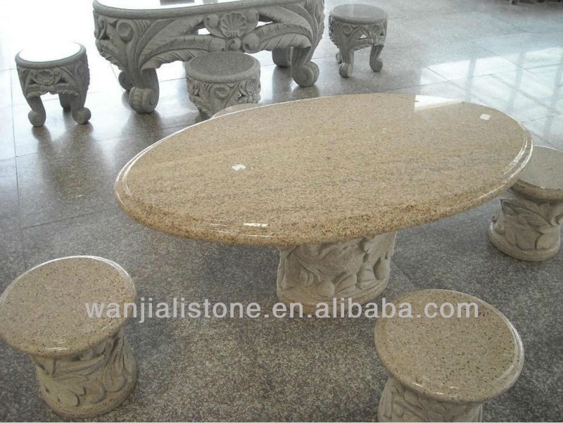 Natural Stone Chair for Park