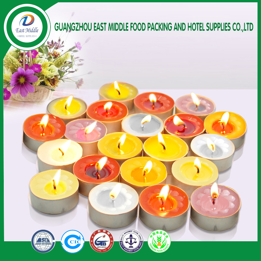 High quality wax candle birthday candle environmental insulation candle decorating