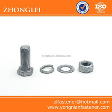Hex Bolts and Nuts with Washers China Wholesale
