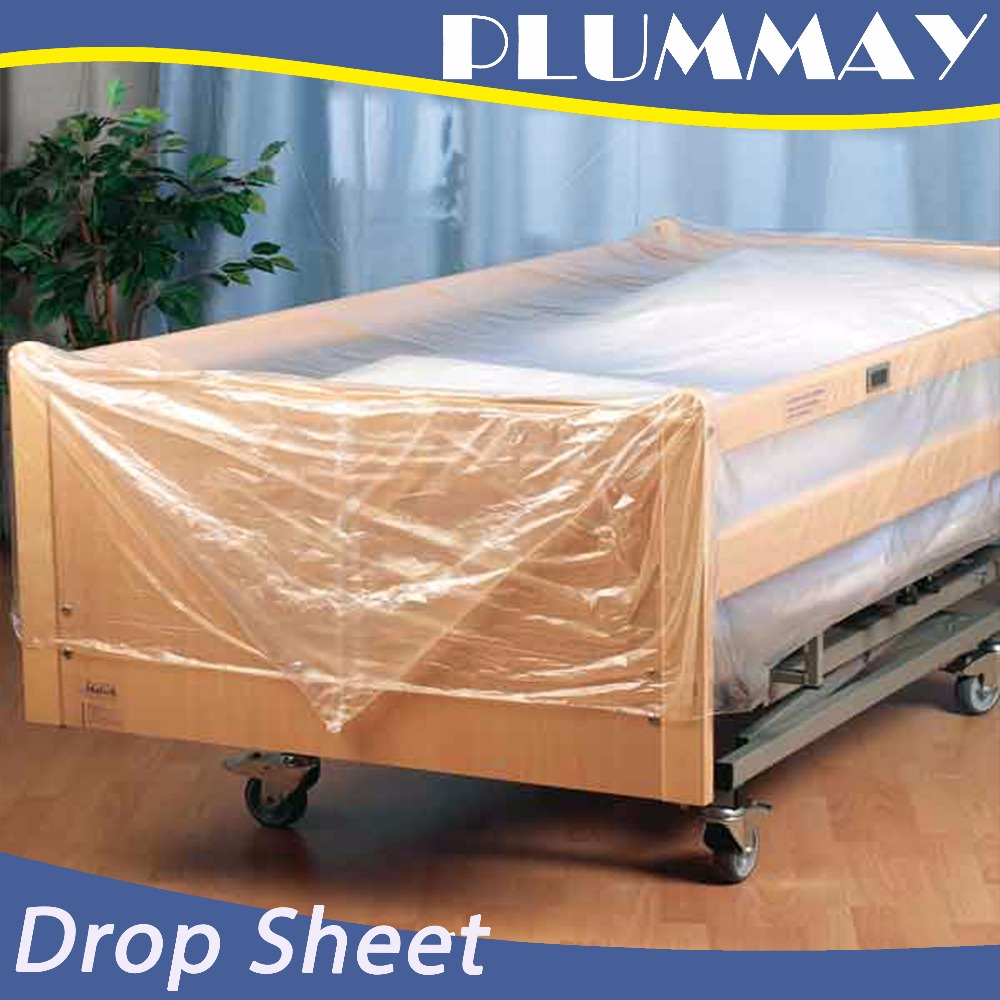 Plastic protective drop cloth/ dust sheet/cover film