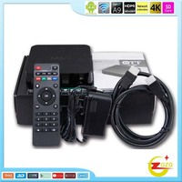 MXQ real internet tv set top box amlogic s805 quad core tv box