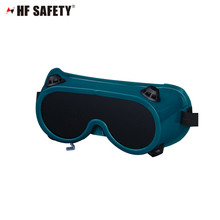 High quality welding goggles/PVC lens round safety glasses EN175&ANSI Z87.1