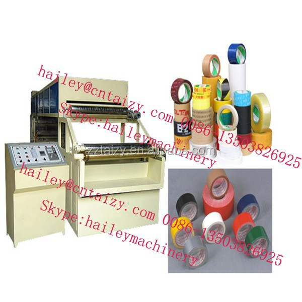 made in china and factory BOPP Adhesive Scotch Tape Making Machine