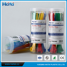 Haitai Manufacturer OEM Value Pack Series 100% PA66 Nylon Cable Ties With Sticker