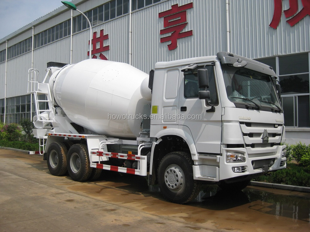 2016 new model sinotruk howo 10m3 volume cement mixer truck