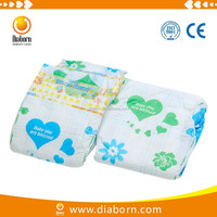 High quality disposable baby diapers by manufacturing machine
