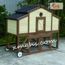 wooden quail chicken cage carrier