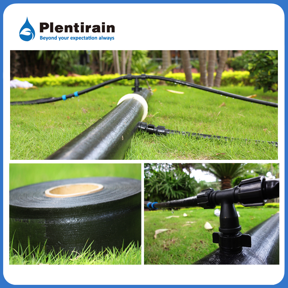Double layer pe irrigation hose reinforced micro spray hose