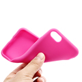 Basic Soft Solid Colored Silicone Back Cover Case for Iphone 7