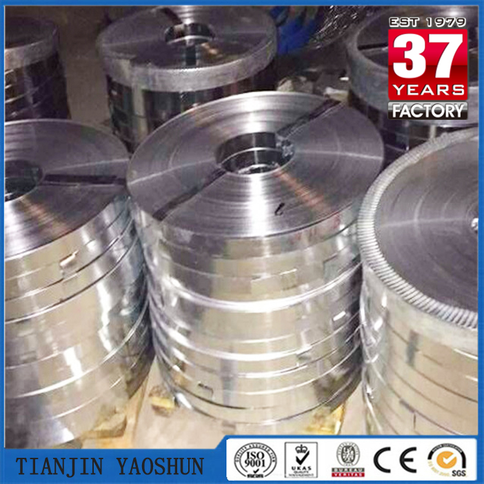 banding steel strip/zinc coating steel strip/galvanized steel banding material