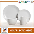 Ceramic porcelain latest dinner table set with popular design