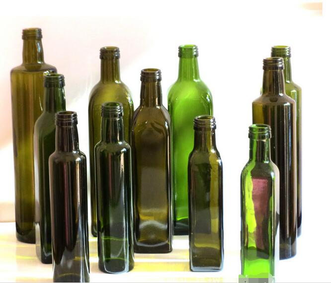 olive oil glass bottle 100 ml 250 ml 500 ml 750 ml 1000 ml