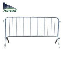 Hot sale interlock concert crowd control barrier/retractable safety barriers/galvanized barrier