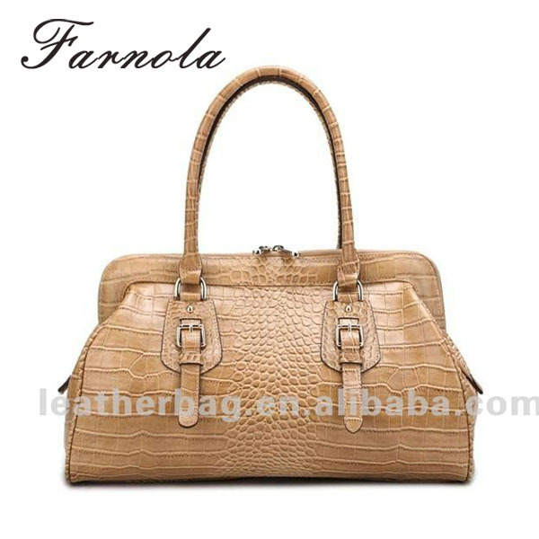 women design leather classic snake skin vintage printed handbags