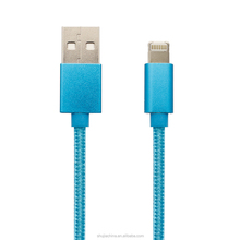 USB Cable A male to Micro & Lightn Nylon braided wire Charger cable for Iphon7/6/6s and other normally