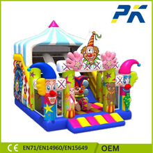 PK cheap price inflatable sewing bouncy castle on sale