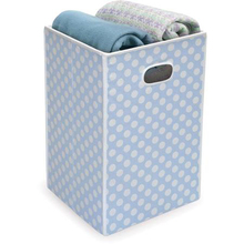 Decorative Foldable Clothes Box Collapsible Laundry Basket Dirty Laundry Hamper