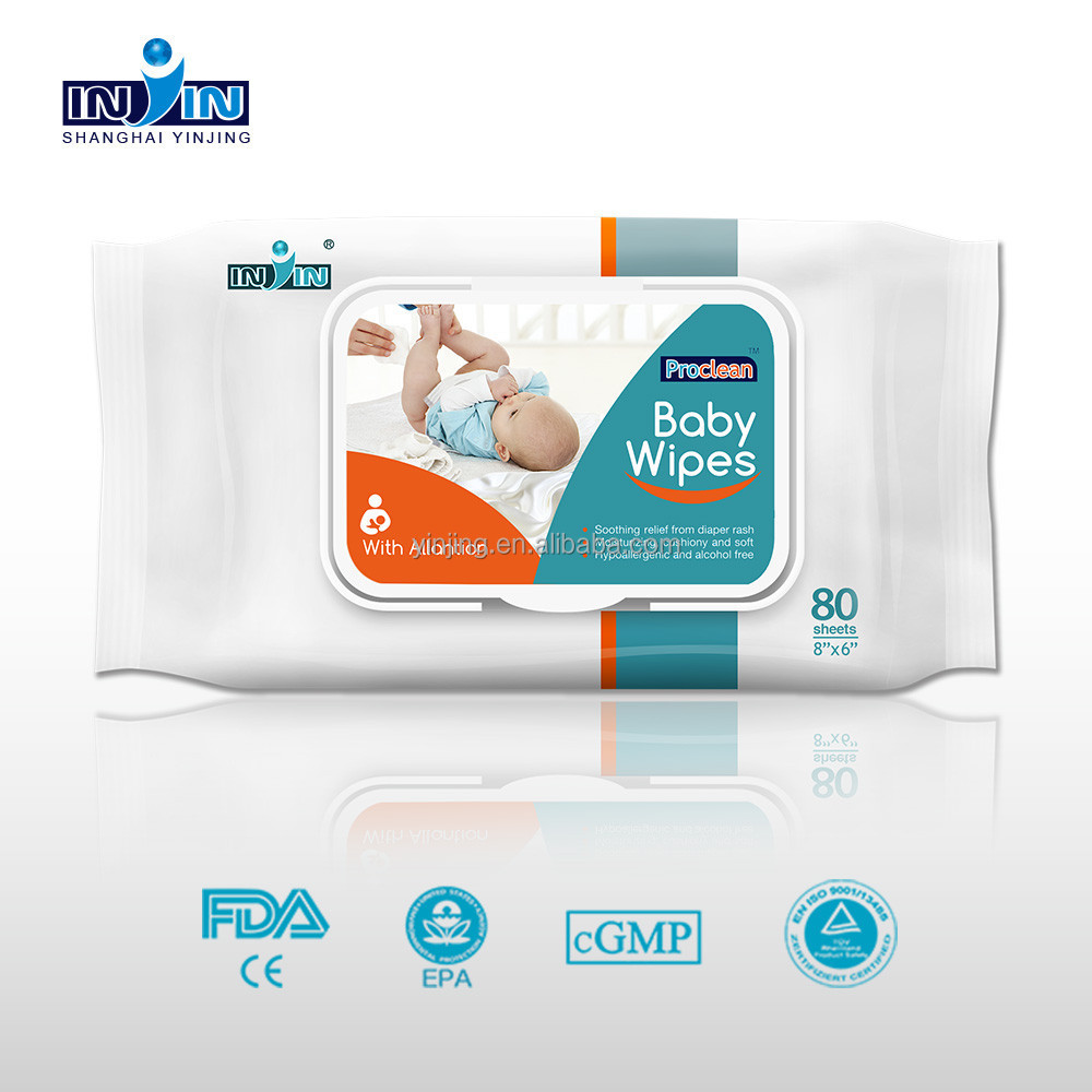 FDA approved baby wet wipes