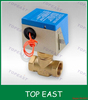 Central air-conditioning fan coil electric two-way valve