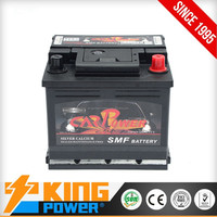 High Performance 12V43AH rechargeable MF car battery DIN43
