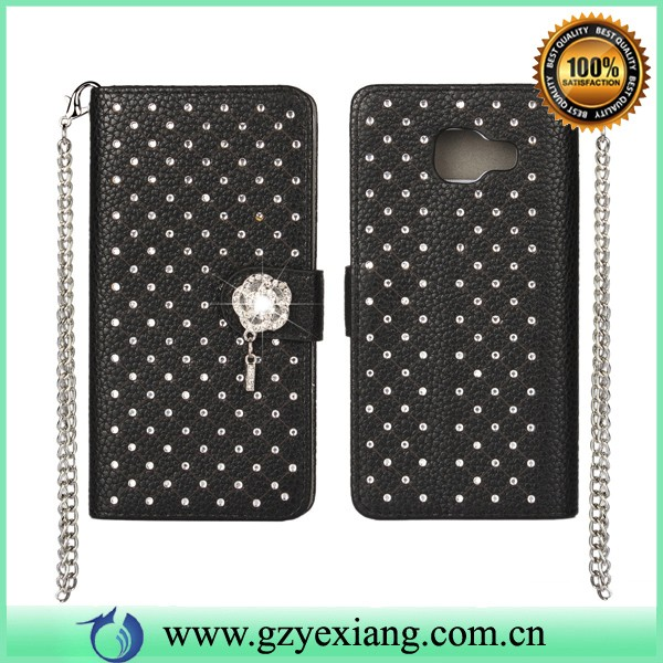 bling bling mobile phone cover for asus fonepad me371mg leather case