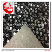lace bead fabric making for shoes and dress part