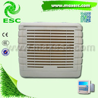 Window eco-freindly air conditioner water cooled chiller outdoor evaporative air cooler
