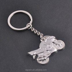Wholesale fashion Model Motorcycle Keychain zinc metal Keychain Keyring fob motorcycle gift drop shipping