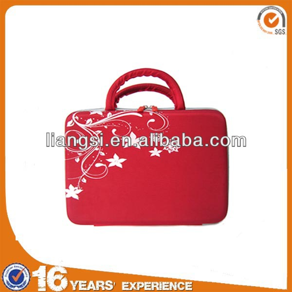 Top quality eva luxury leather laptop bag for women