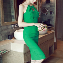 Wholesale New Arrival Women Lace Backless Package Hip Wedding Party Dress Evening Dress